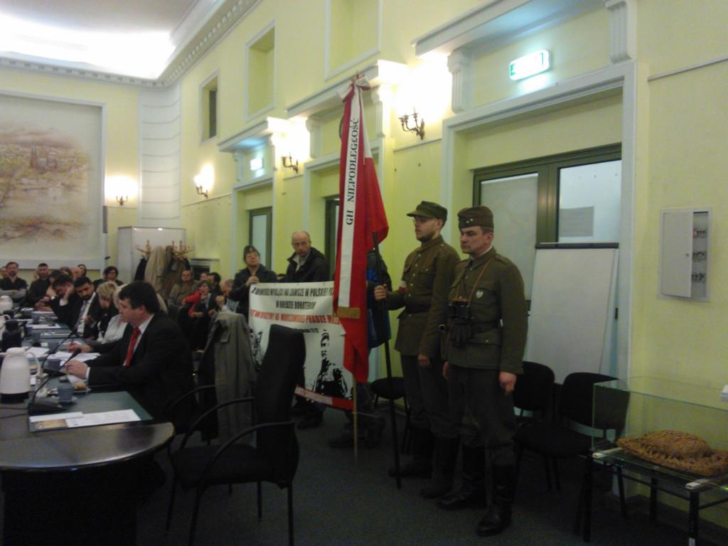 Na posiedzeniu Rady Dzielnicy pojawili się licznie zwolennicy budowy Muzeum Żołnierzy Wyklętych